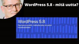WordPress 5.8 mitä uutta